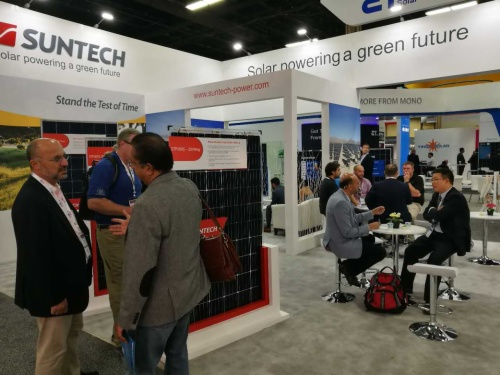 Suntech exhibe módulos solares exclusivos en Solar Power International 2017 en Las Vegas